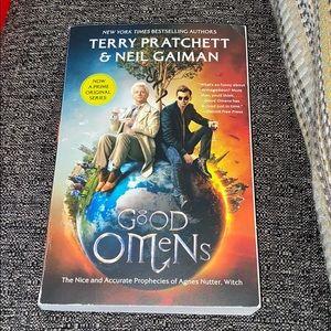 Good Omens Book by Terry Pratchett and Neil Gaiman